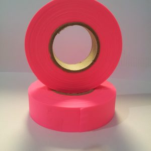 Flapping tape pink
