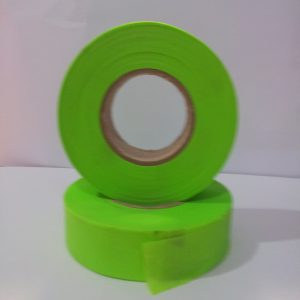 Flapping tape green