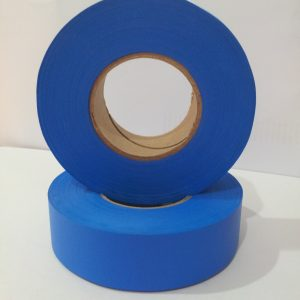 Flapping tape blue