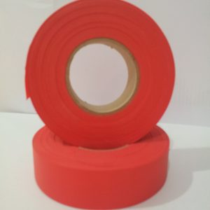 Flapping tape red