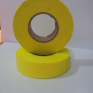 Flapping tape yellow