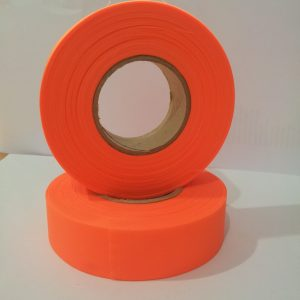 Flapping tape orange